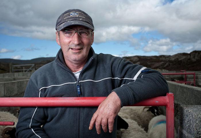 Norman Mackay, finsbay, isle of harris, fank