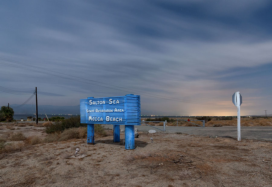 salston sea, mecca beach. southern california
