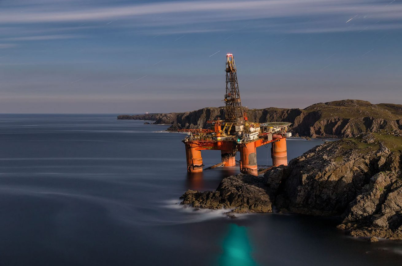 Transocean Winner Oil Rig, dalmore, isle of lewis