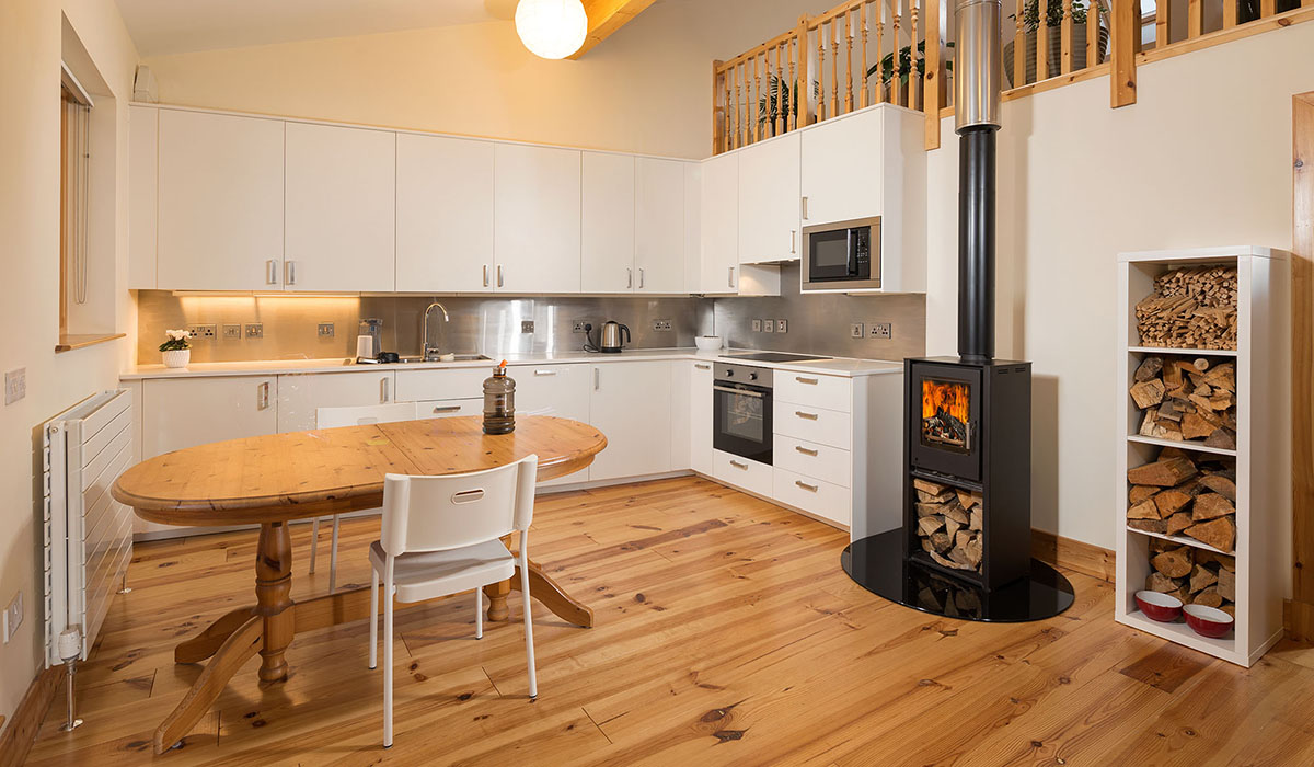 First floor kitchen, West Whins, Findhorn