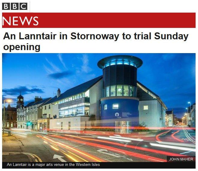BBC News - An Lanntair