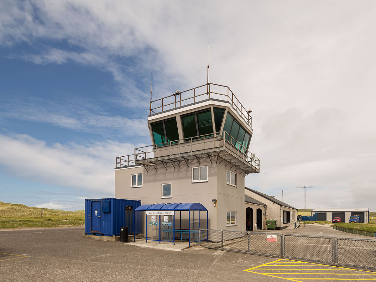 Barra airport tower