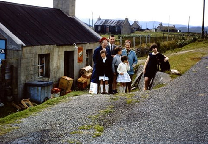 Balallan Post Office 1968, isle of lewis