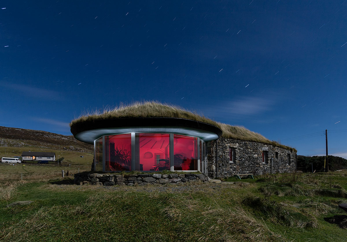 Blacksheep House, grand designs, strond, harris