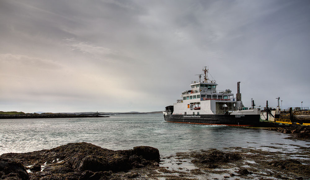 MV Loch Portain, berneray, leverburgh, ferry