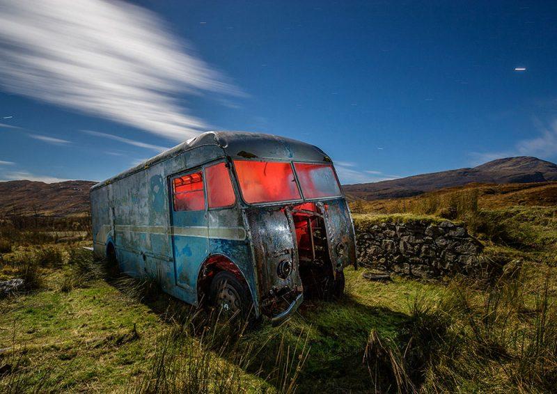Harris Tweed Truck, kenneth mackenzie, mill, stornoway