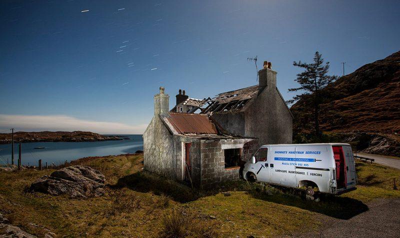 no job too small, handyman, derelict, abandoned, house, home