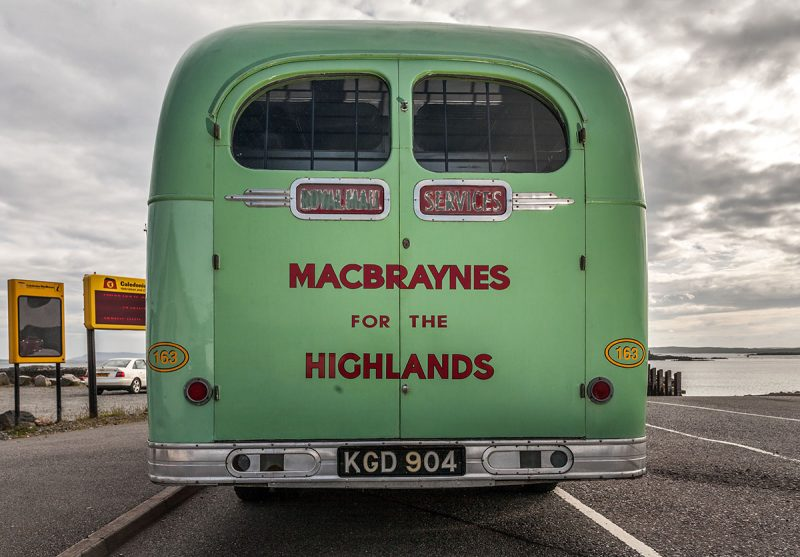 1952 Bus, bedford, macbraynes